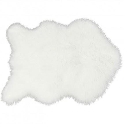 Peau de mouton synthétique blanc 60x90cm Kare Design