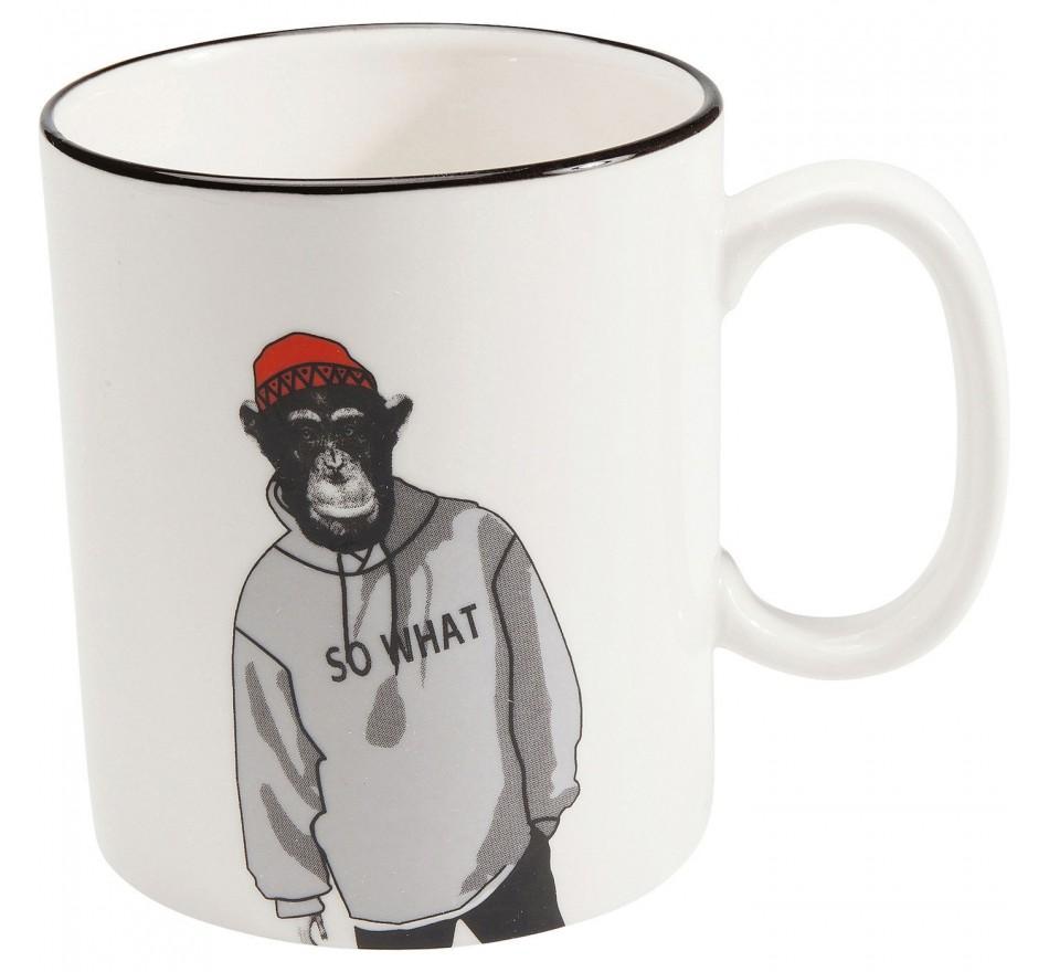 Mugs Gangster Monkey set de 4 Kare Design