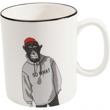 Mugs singe Gangster set de 4 Kare Design