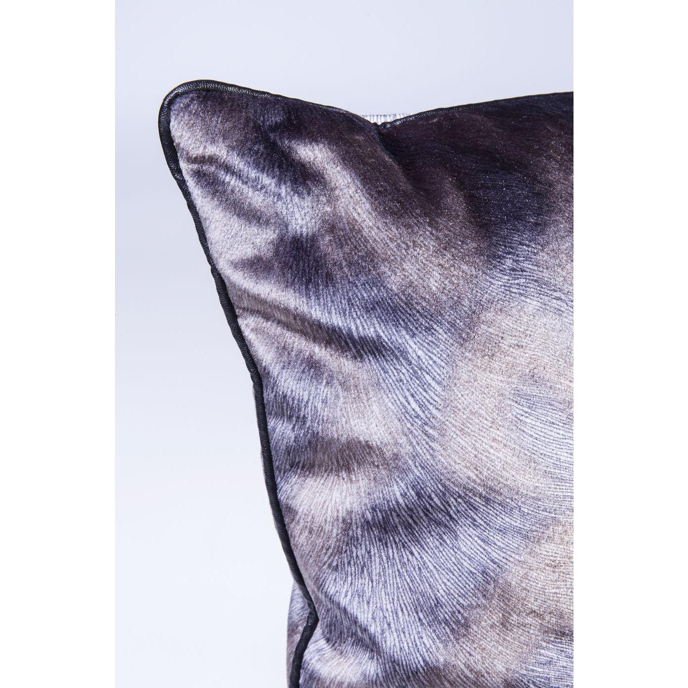 Coussin Flow gris Kare Design