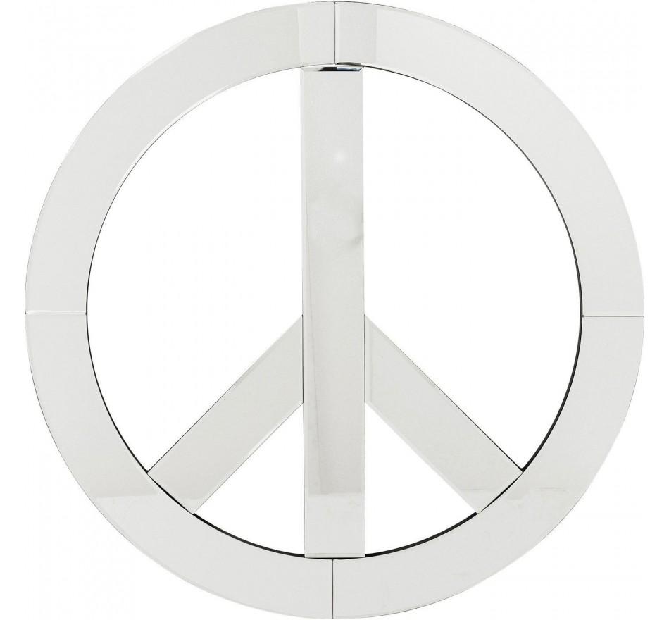 Déco murale Mirror Peace 70cm Kare Design