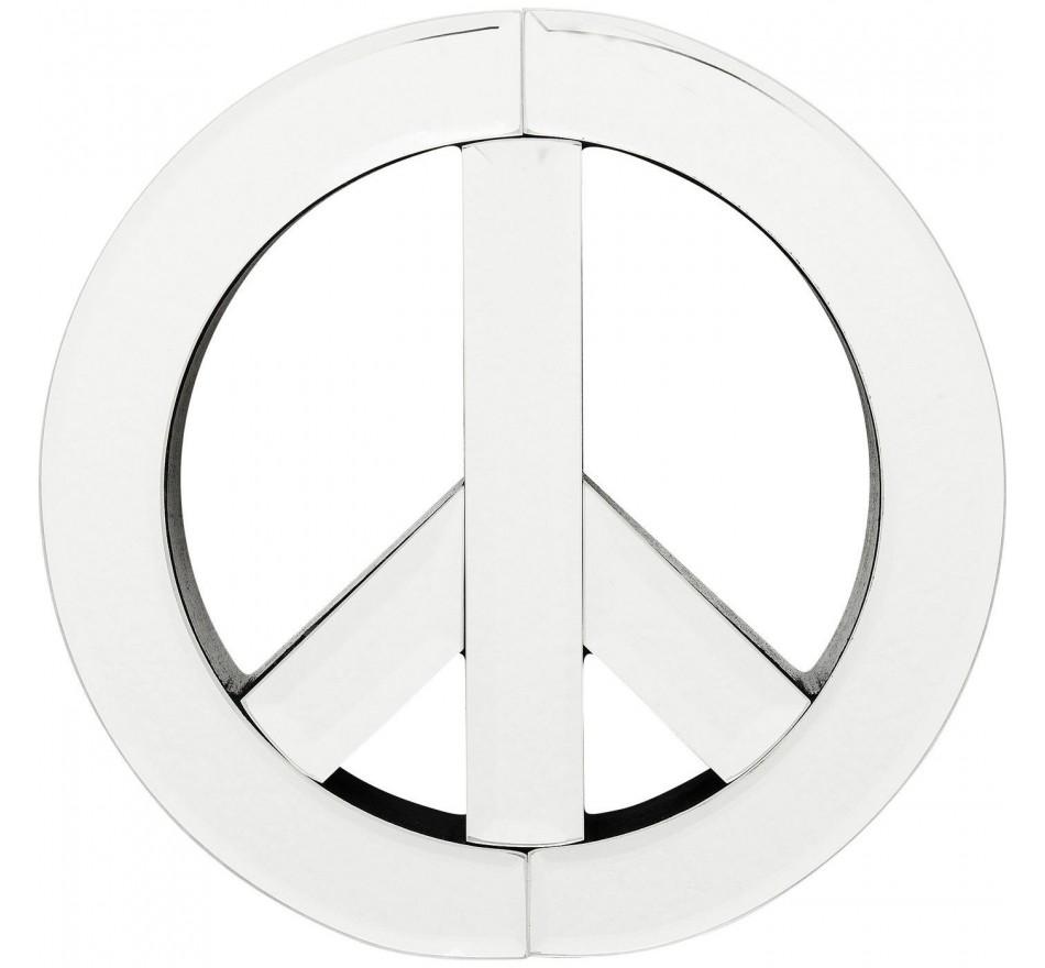 Miroir Peace 20cm Kare Design