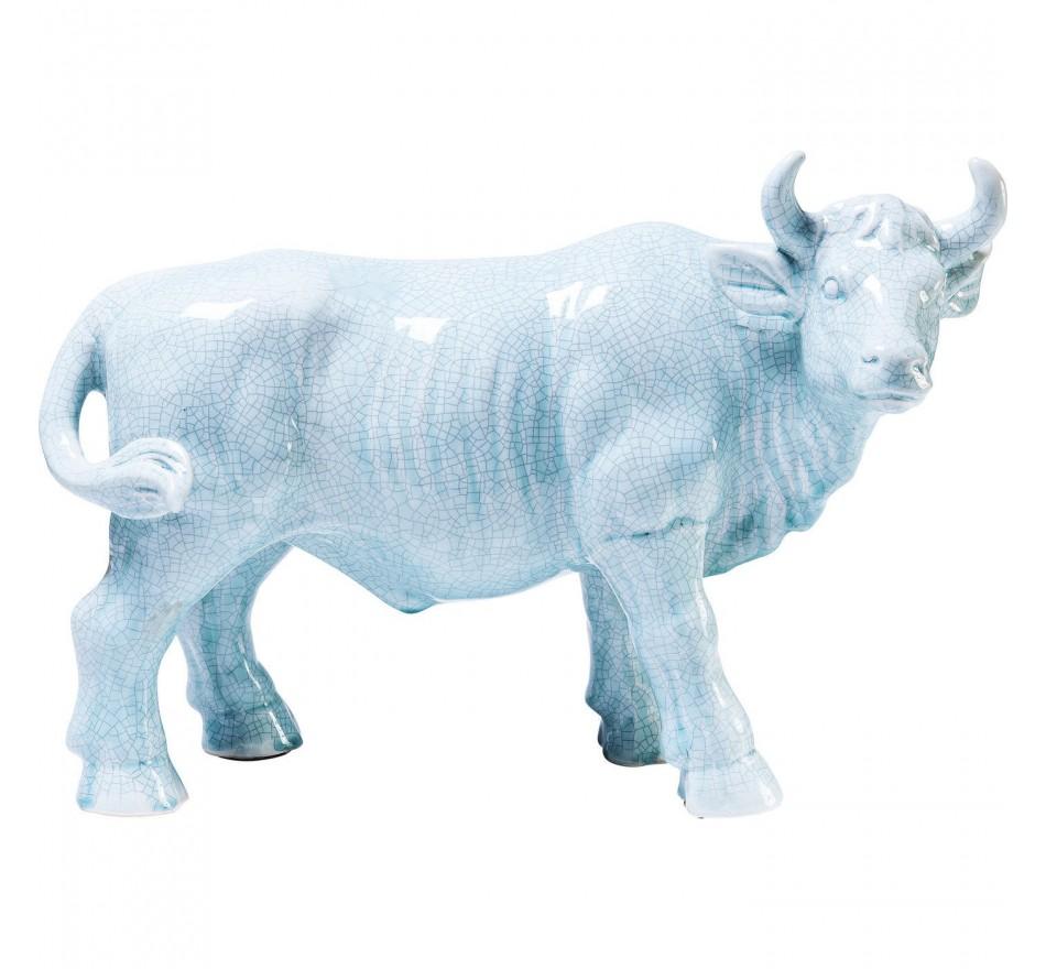 Déco taureau bleu Kare Design