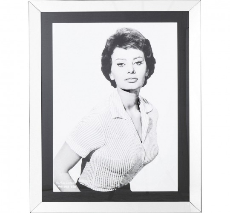 Tableau Frame Sophia Loren 120x90cm Kare Design