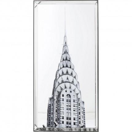 Tableau Chrysler Building 120x60cm Kare Design