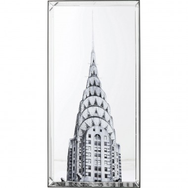 Tableau Chrysler Building 120x60cm Kare Design