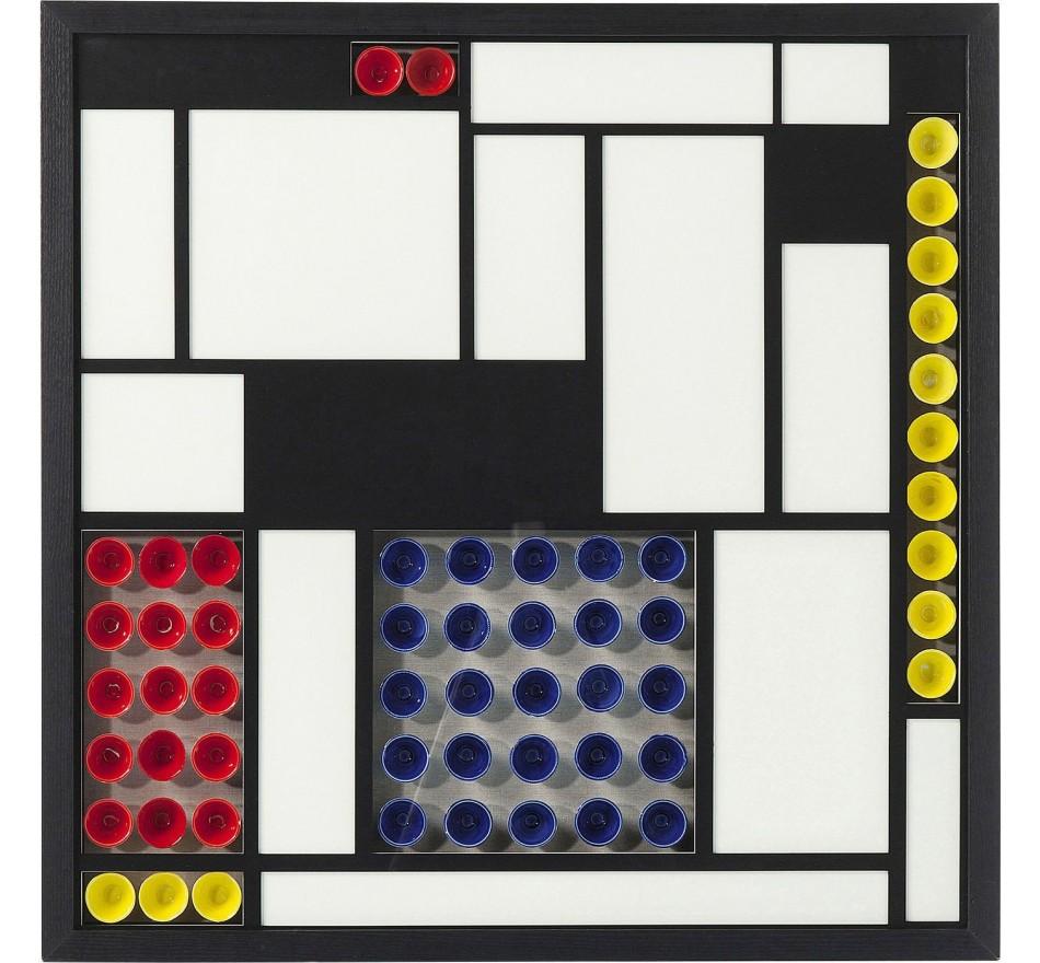 Cadre décoratif Squares Colore 80x80cm