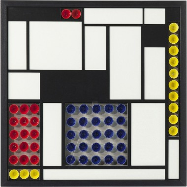 Tableau 3D Squares Colore 80x80cm Kare Design