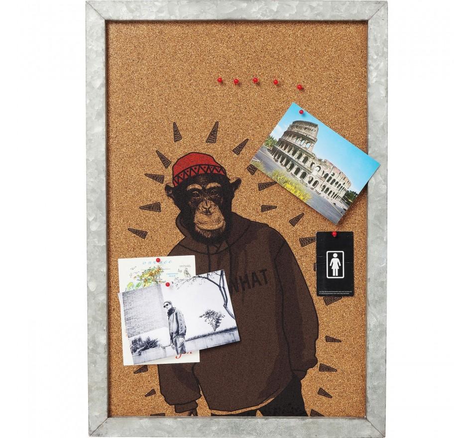 Tableau d affichage Gangster Monkey