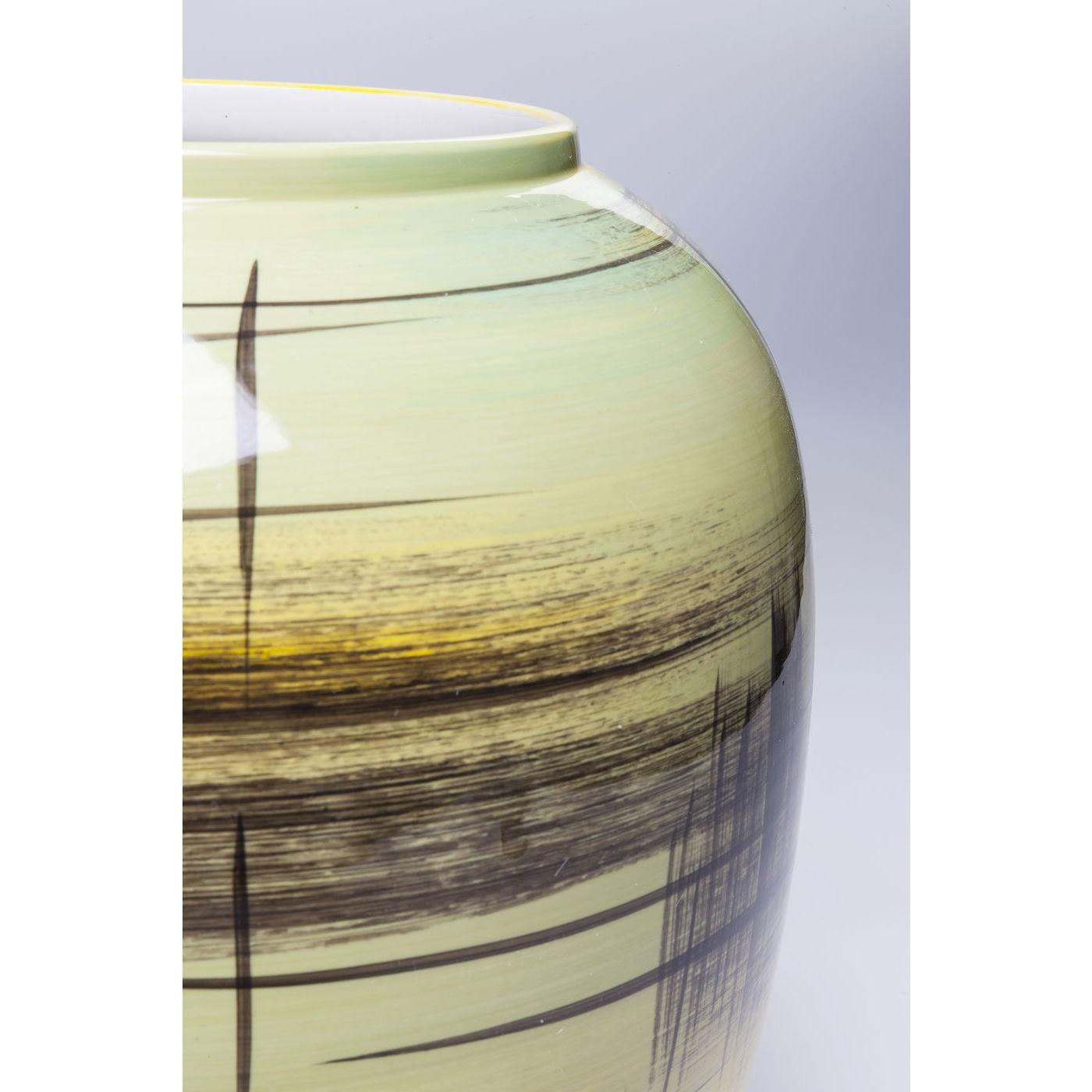Vase Arte Colore jaune 31cm Kare Design