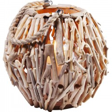 Lanterne Legno 28cm Kare Design