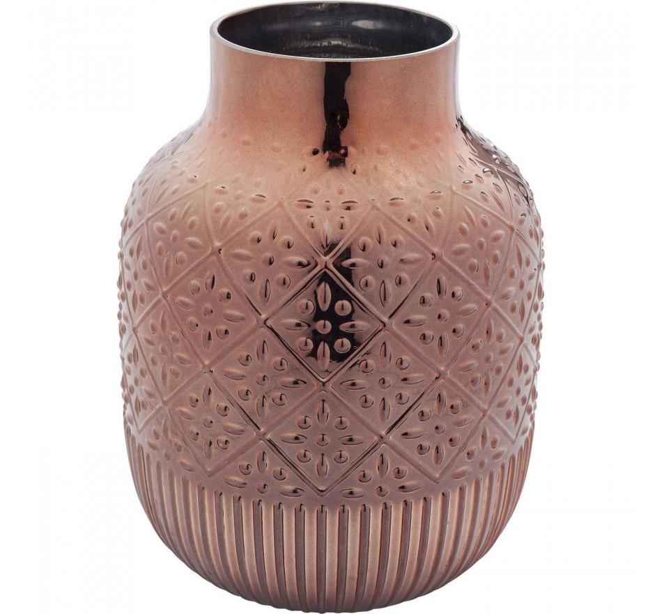 Vase Jetset rose 22cm Kare Design