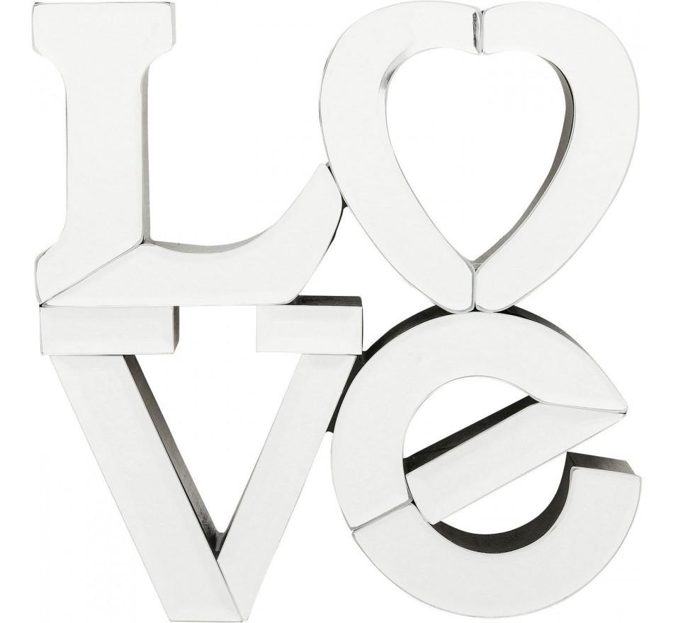 Miroir Love 25cm Kare Design