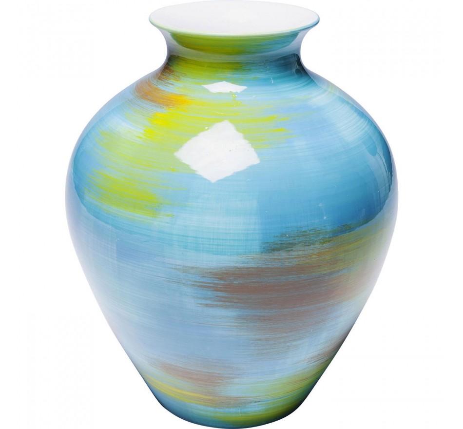 Vase Arte Colore turquoise Kare Design