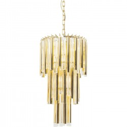 Suspension Palazzo Pole dorée 35cm Kare Design