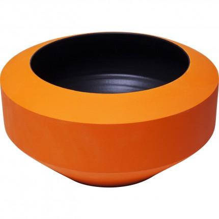 Vase Aurora orange 14cm Kare Design