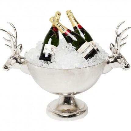 Seau à champagne cerfs 54cm Kare Design