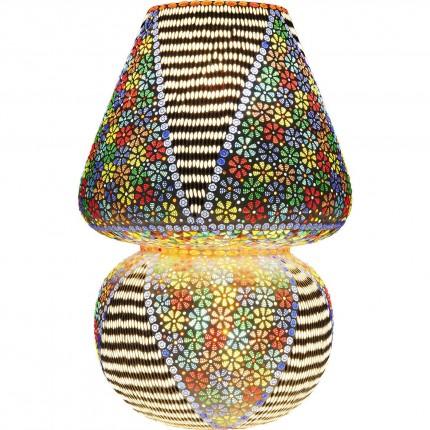 Lampe de table Mosaic fleurs 60cm Kare Design