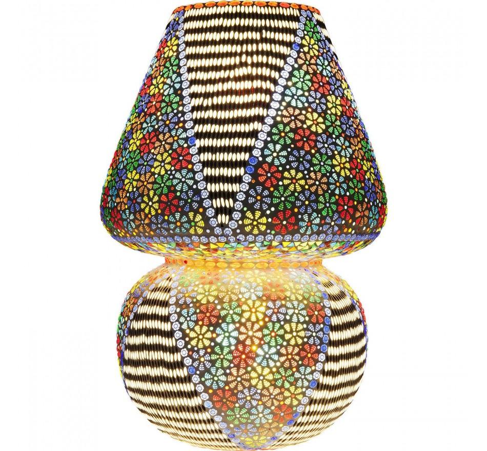 Lampe de table Mosaic Flowers colore 60cm Kare Design