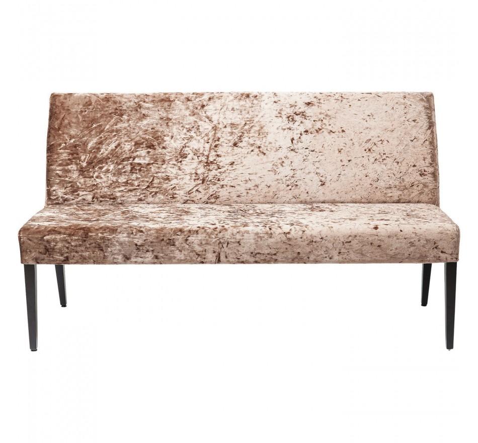 Banquette Econo Diva marron 162cm Kare Design