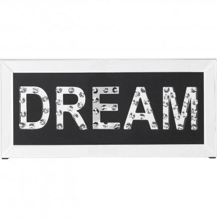 Tableau Frame Dream 24x51cm Kare Design