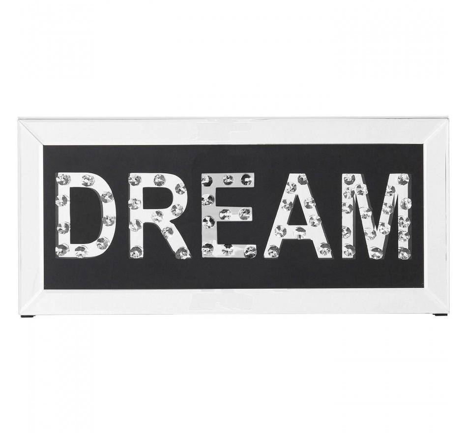 Tableau Frame Mirror Dream 24x51cm Kare Design