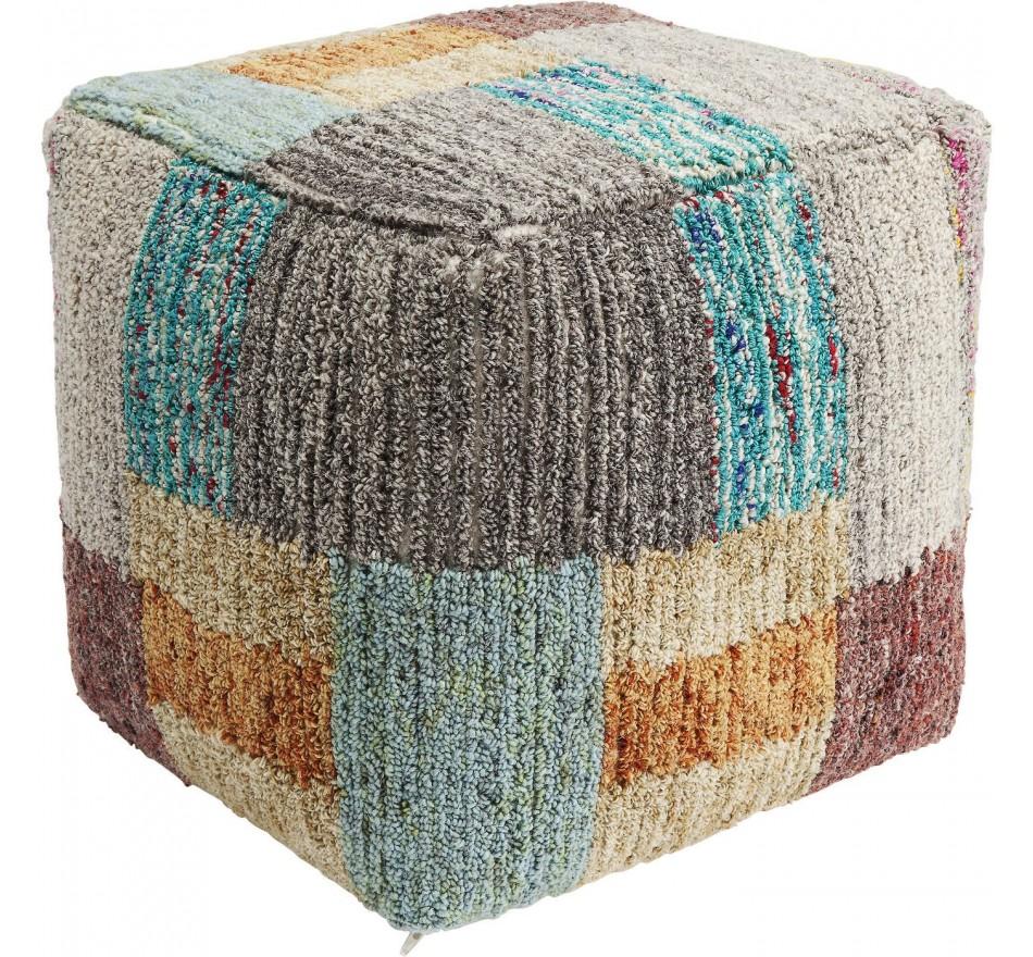 Pouf Color Fields 45x45cm Kare Design