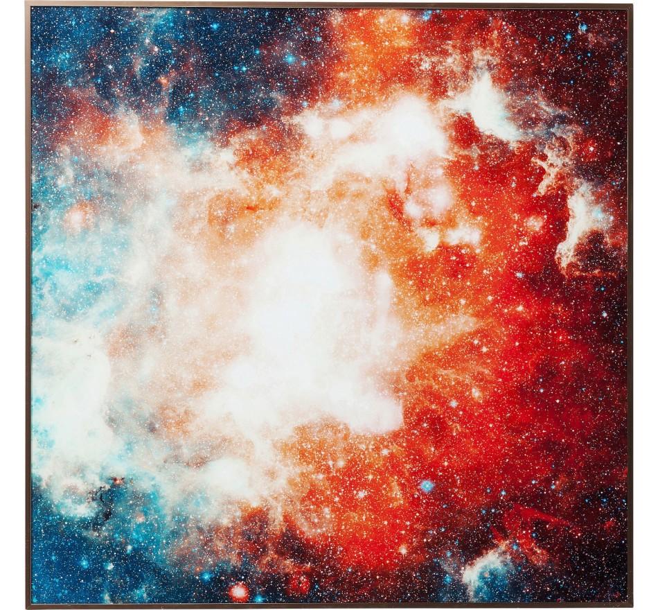 Tableau Frame Cosmos 80x80cm Kare Design