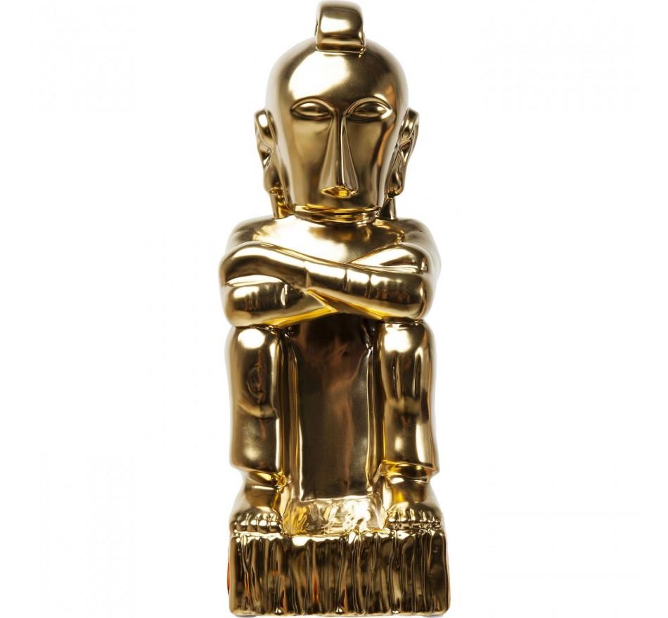 Déco Machu Picchu doré Kare Design