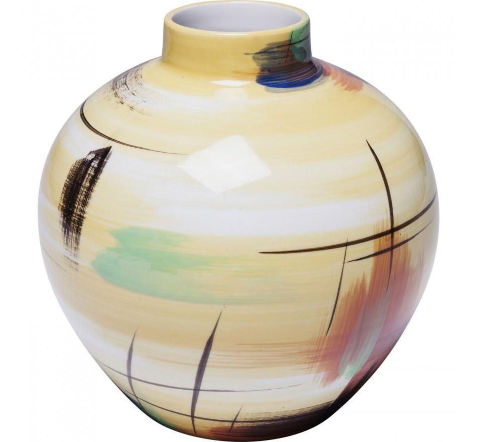 Vase Arte Colore jaune 19cm Kare Design