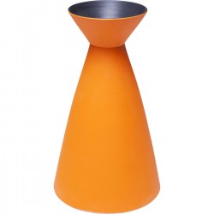 Vase Aurora orange 24cm Kare Design