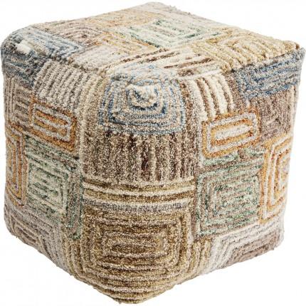 Pouf Labyrinthe 45x45cm Kare Design