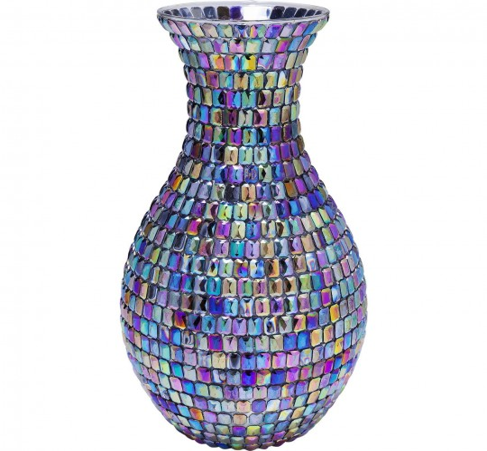 Vase Rainbow Diamonds 34cm Kare Design