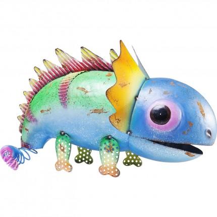 Déco Dino caméléon bleu Kare Design
