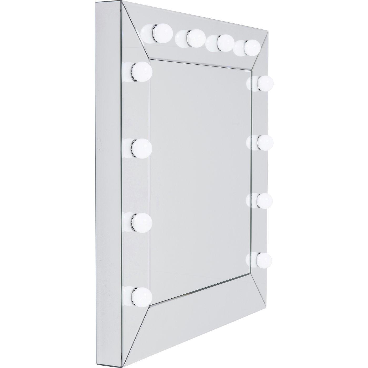 Miroir Make Up carré 81x81cm Kare Design