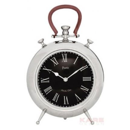 Horloge de table Paris Pocket 39cm noire Kare Design