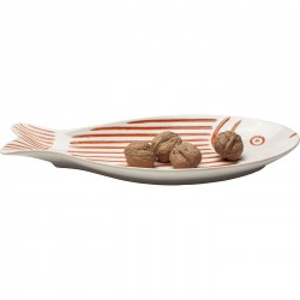 Coupe poisson rouge 35cm Kare Design