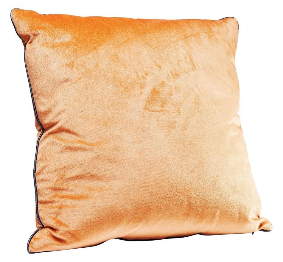 Coussin Edge orange 45x45cm Kare Design
