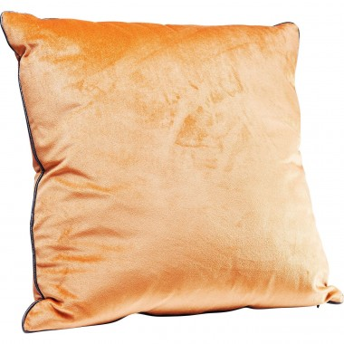 Coussin Edge orange 45x45cm Kare Design