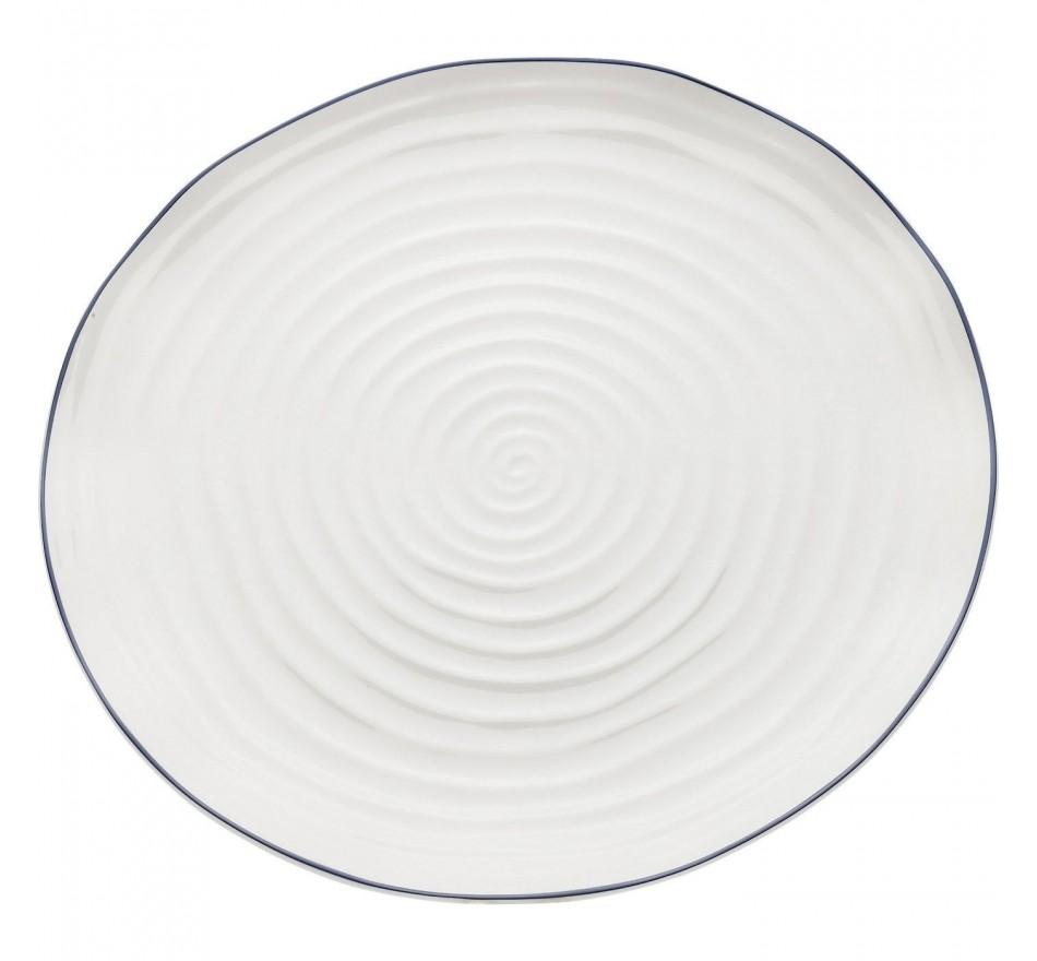 Plat Swirl 31cm Kare Design