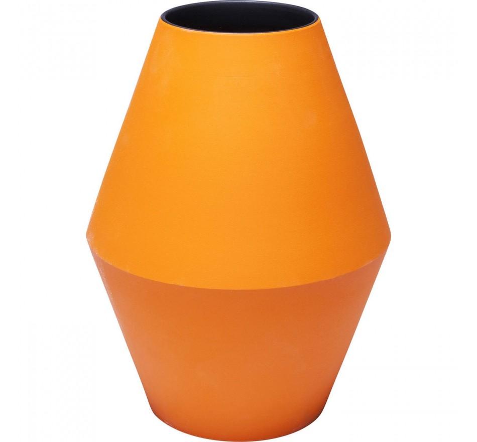 Vase Aurora orange 26cm Kare Design