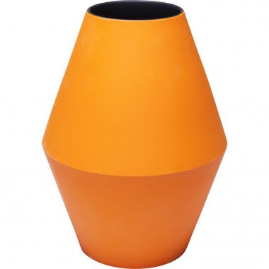 Vase Aurora orange 26cm Kare Design
