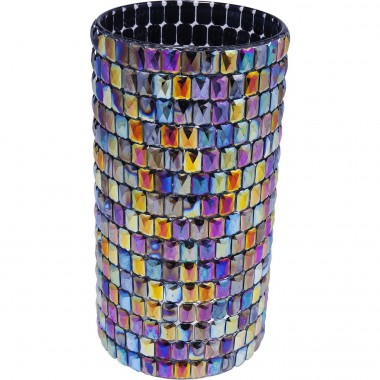 Vase Rainbow Diamonds 22cm Kare Design
