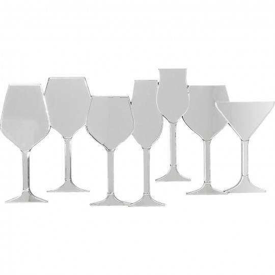 Miroir Winery 100x50cm Kare Design