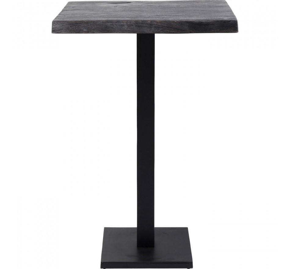 Table haute Pure Nature noire 70x70cm Kare Design