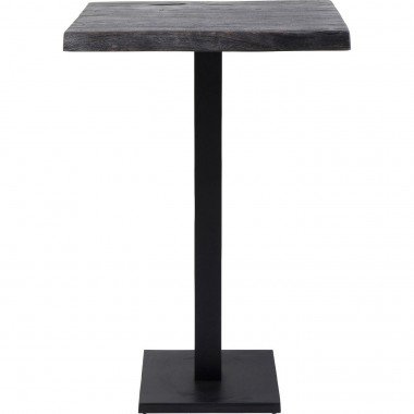 Table haute Pure Nature noire 70x70cm Kare Design