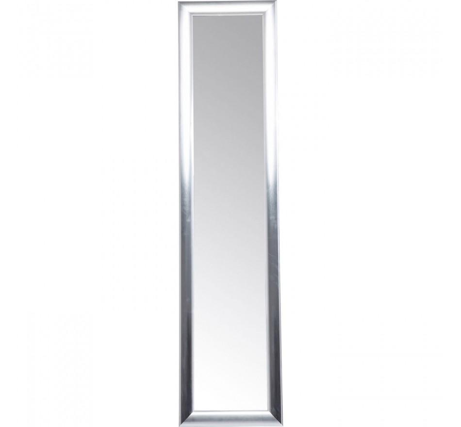 Miroir sur pied Modern Living argenté 170x40cm Kare Design