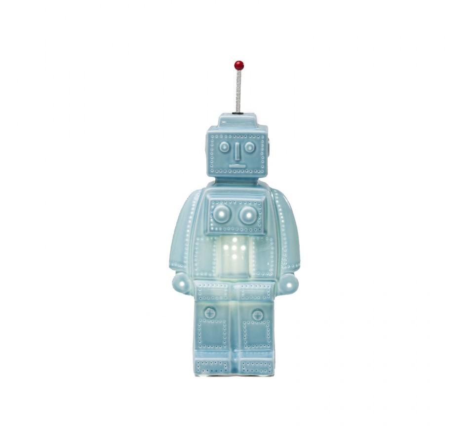 Lampe de table Robot bleue Kare Design