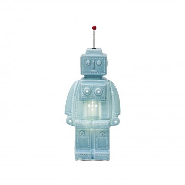 Lampe de table Robot bleue Kare Design