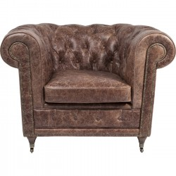 Fauteuil Club Oxford Vintage Deluxe Kare Design